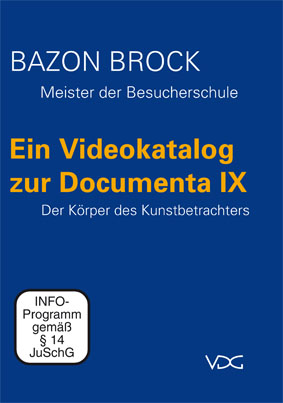 Ein Videokatalog zur Documenta IX | DVD-Cover