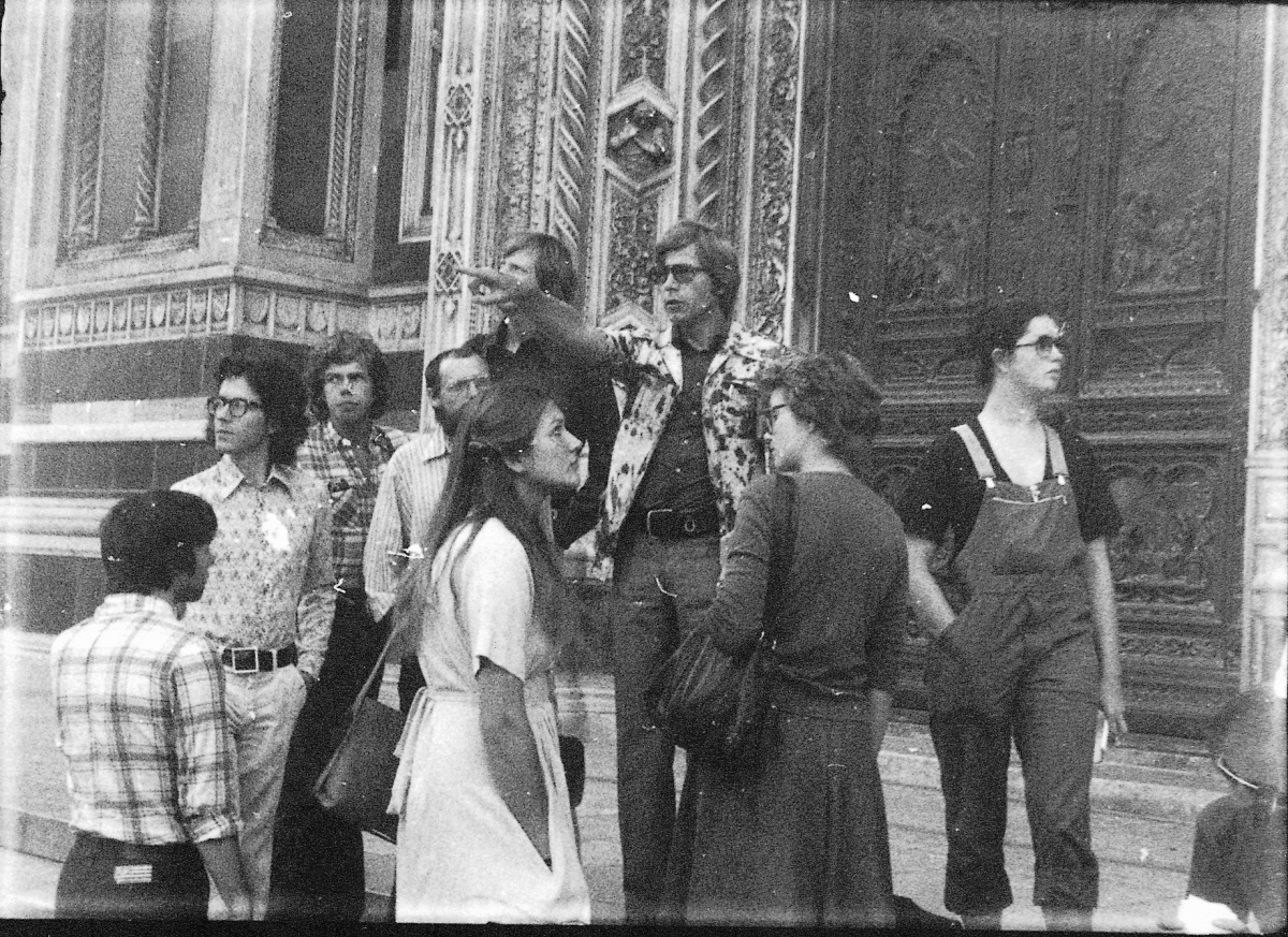 Exkursion Florenz, 1975