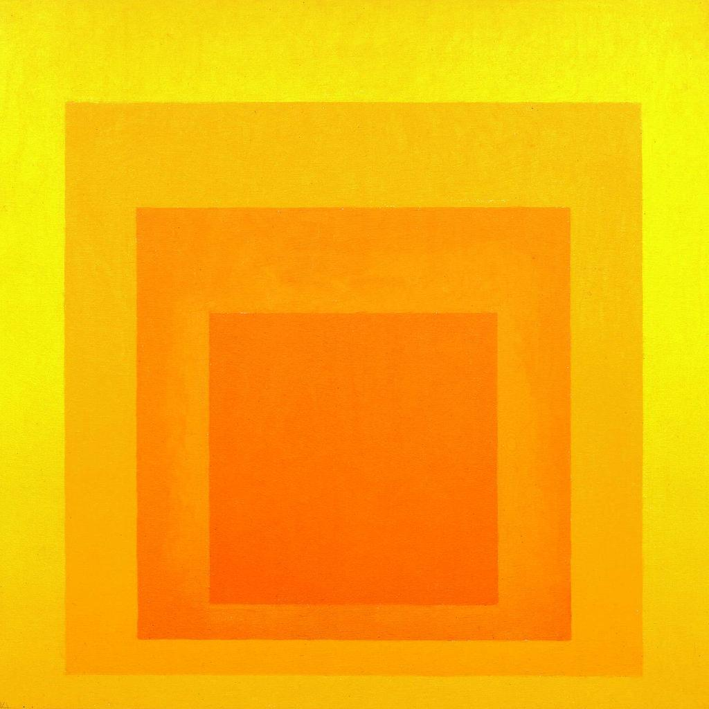 Josef Albers' »Study for Homage to the Square«, 1967
