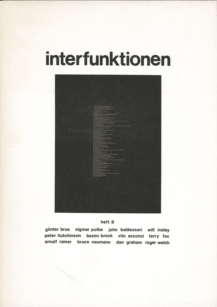 Interfunktionen, Bild: Nr. 8/1972.